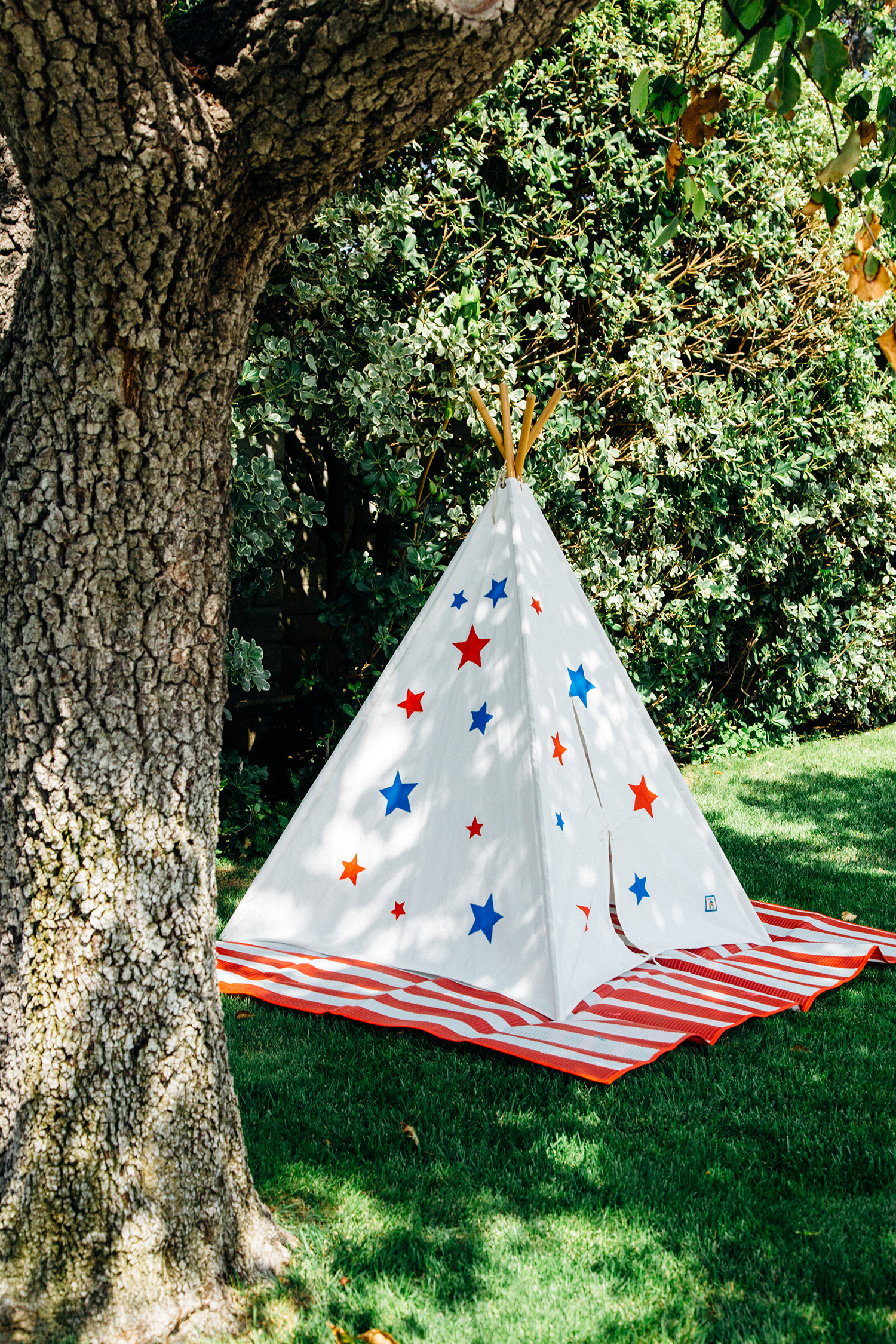 Diy Painted Teepee Playfully