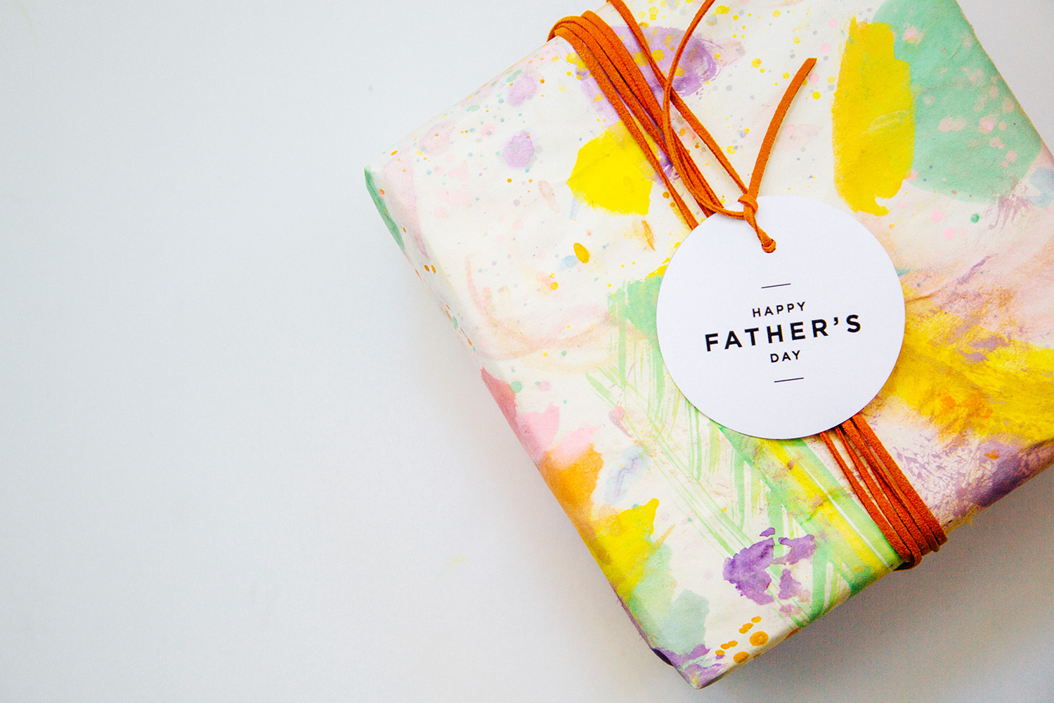 DIY Gift Wrap for Father's Day