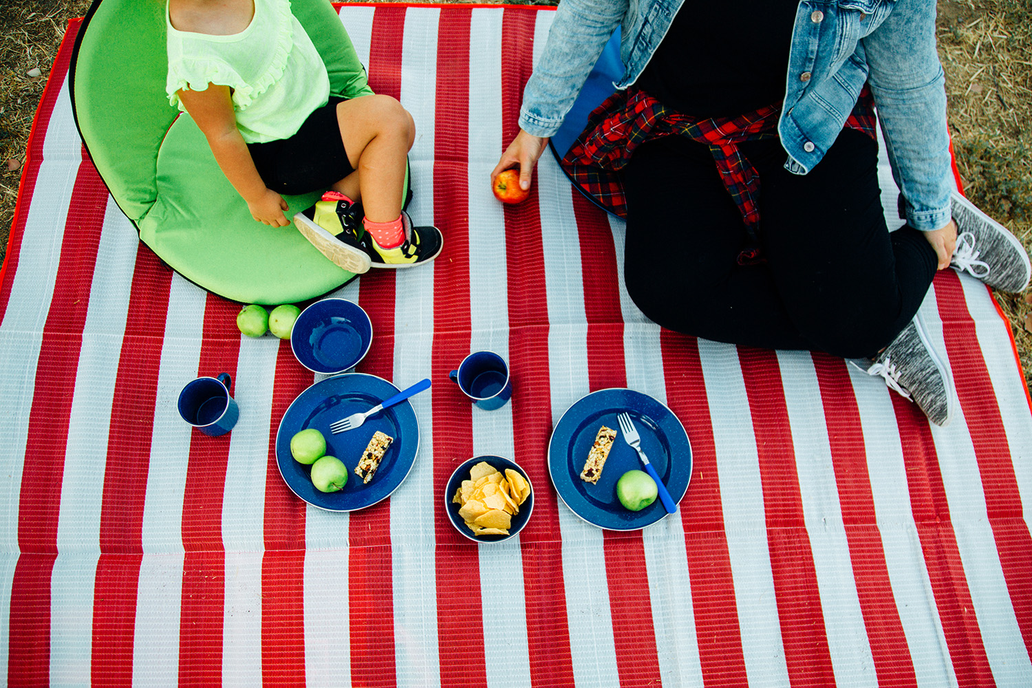 Kid-Friendly Trail Mix + Impromptu Picnics