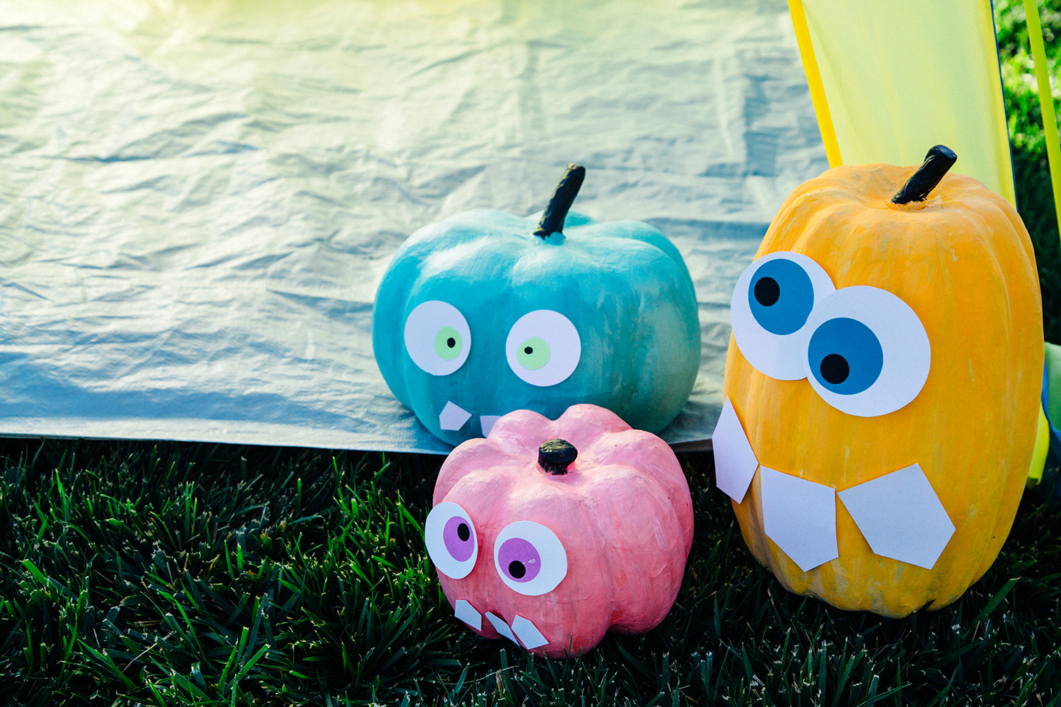 Silly Monster Pumpkin Printables