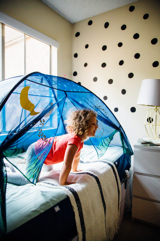 Firefly Bed Tent Diy Glow Worms Playfully Pacific Play
