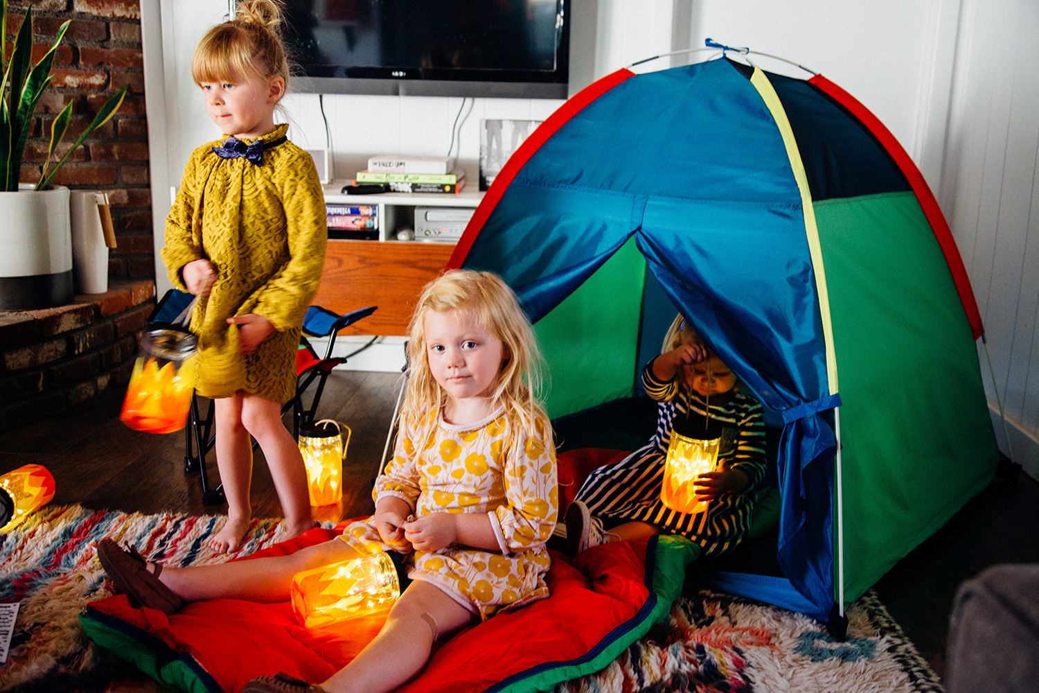 Kid-Friendly Campfire Lanterns