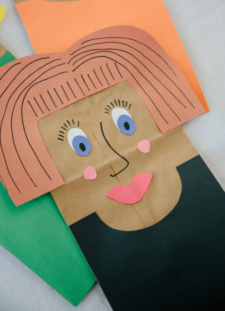 diy paper bag puppets playfully blog pacific play tents playfully